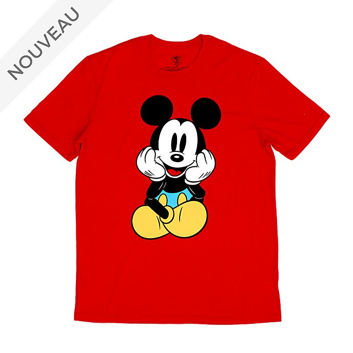 Disney Store T-shirt Mickey assis pour adultes