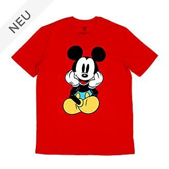 Disney Store - Sitzende Micky Maus - T-Shirt für Erwachsene