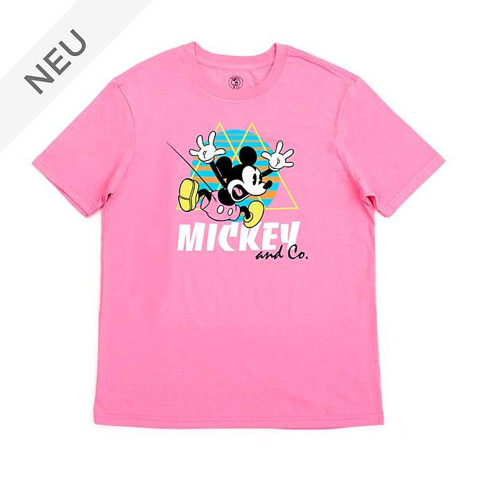 Disney Store - Springende Micky Maus - T-Shirt für Erwachsene