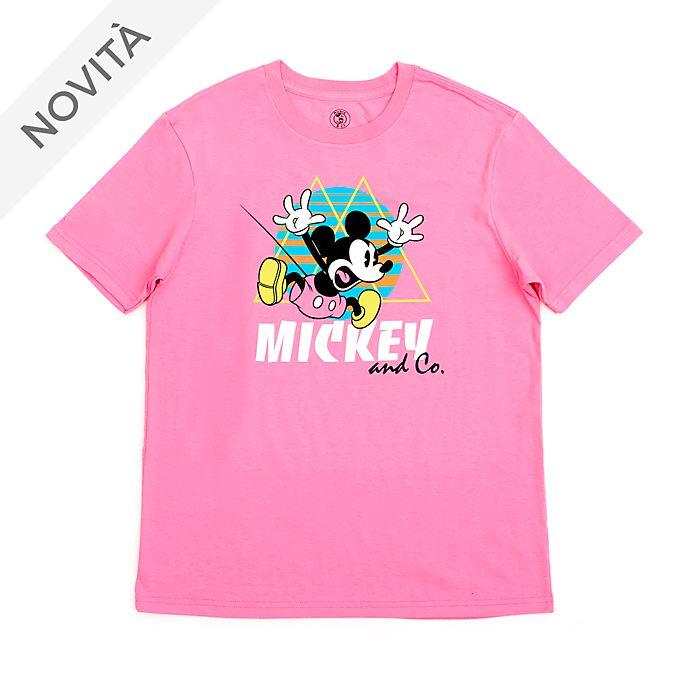Maglietta adulti Topolino che salta Disney Store