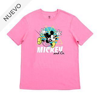 Camiseta Mickey Mouse saltando para adultos, Disney Store