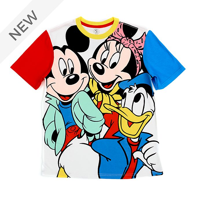 Disney Store Mickey, Minnie and Donald T-Shirt For Adults
