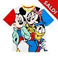 Maglietta adulti Topolino, Minni e Paperino Disney Store