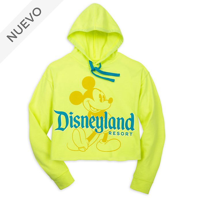 Sudadera con capucha Mickey Mouse para adultos, Neon Summer, Disneyland Resort