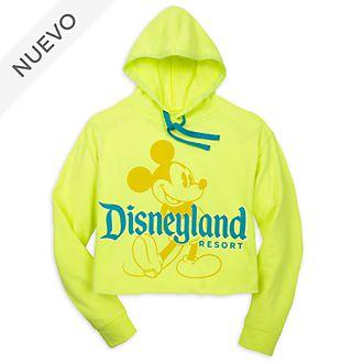 Sudadera con capucha Mickey Mouse para adultos, Neon Summer, Disneyland Resort