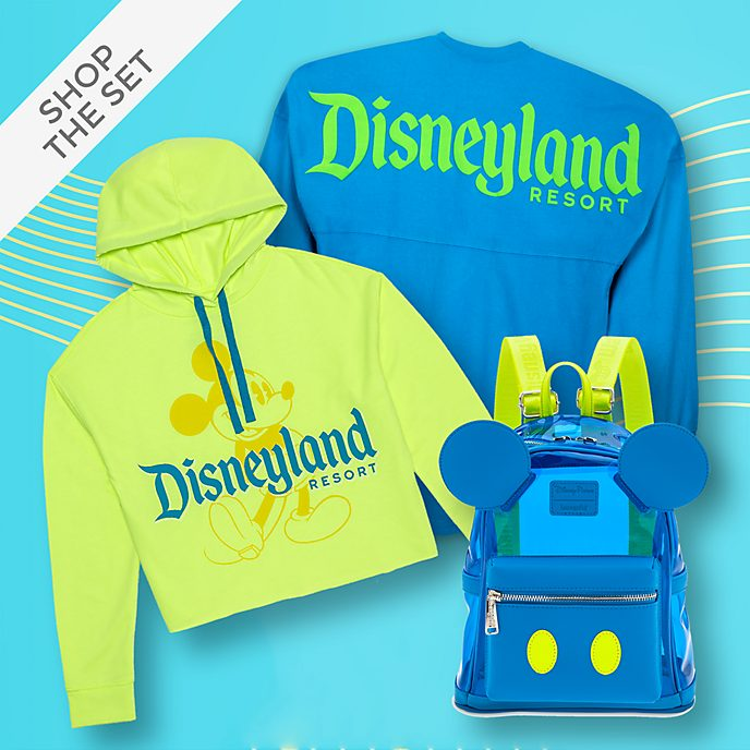 Disneyland Resort Neon Summer Colour Story Collection For Adults