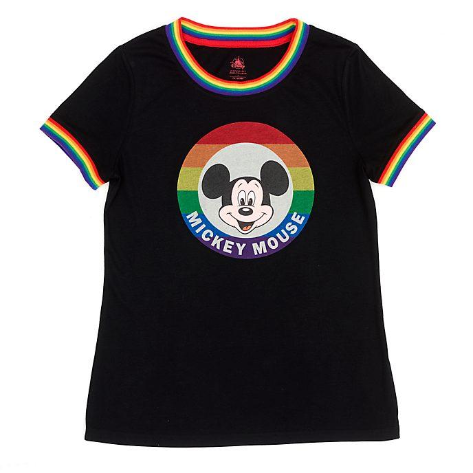Disney Store Mickey Mouse Rainbow Disney Ladies' T-Shirt