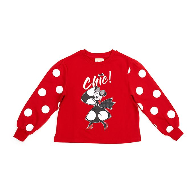 Disneyland Paris Minnie Parisienne Ladies' Sweatshirt