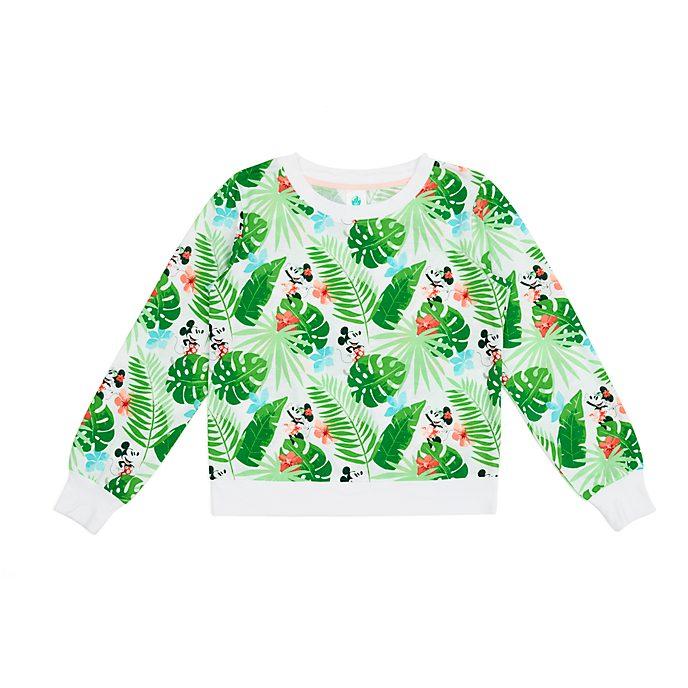 Top a Maniche Lunghe adulti Topolino e Minni collezione Minnie Tropical Hideaway Disney Store
