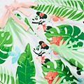 Disney Store Mickey and Minnie Tropical Hideaway Swimming Trunks For Adults
