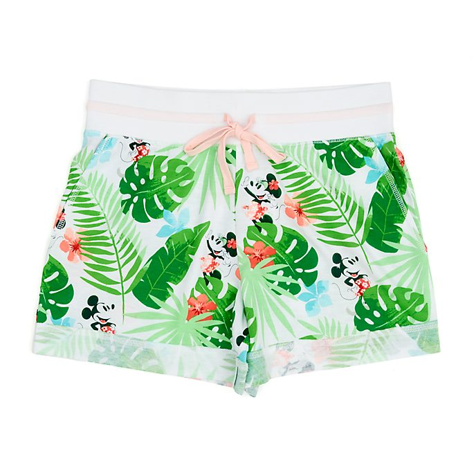 Disney Store Mickey and Minnie Tropical Hideaway Ladies' Shorts