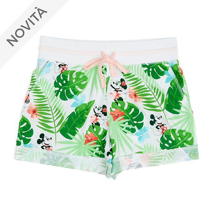 Pantaloncini donna Topolino e Minni, Minnie Tropical Hideaway Disney Store