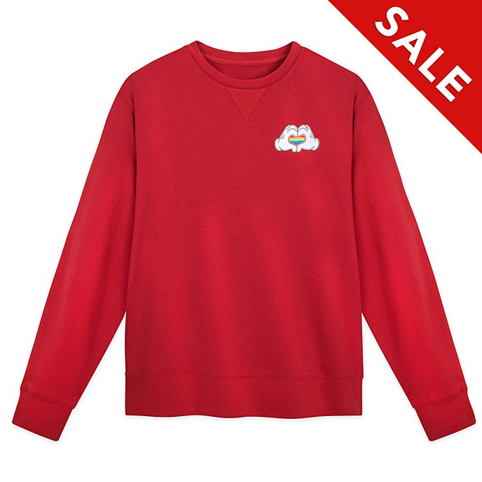 Disney Store Rainbow Disney Sweatshirt For Adults