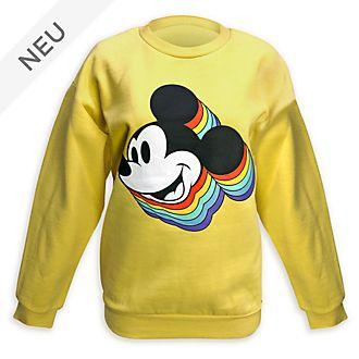 Disney Store - Micky Maus - Sweatshirt für Erwachsene aus der Rainbow Kollektion