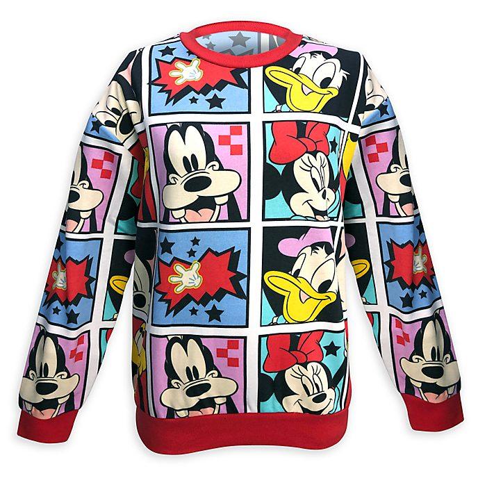 Disney Store Sweat à imprimé Mickey et ses Amis pour adultes