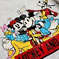 Felpa adulti Topolino e i suoi amici vintage Disney Store