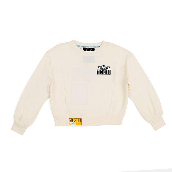 Disney Store Grogu Ladies' Sweatshirt, Star Wars: The Mandalorian