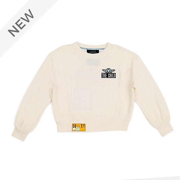 Disney Store Grogu The Child Ladies' Sweatshirt, Star Wars