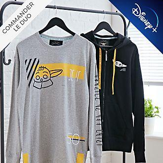 Disney Store Grogu Collection de vêtements et accessoires L'Enfant pour adultes