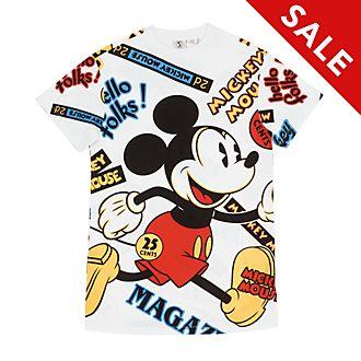 Disney Store - Micky Maus - Langes T-Shirt für Damen