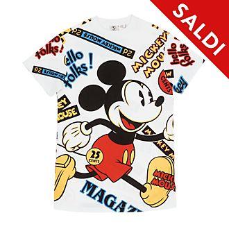 Maglietta lunga donna Topolino Disney Store