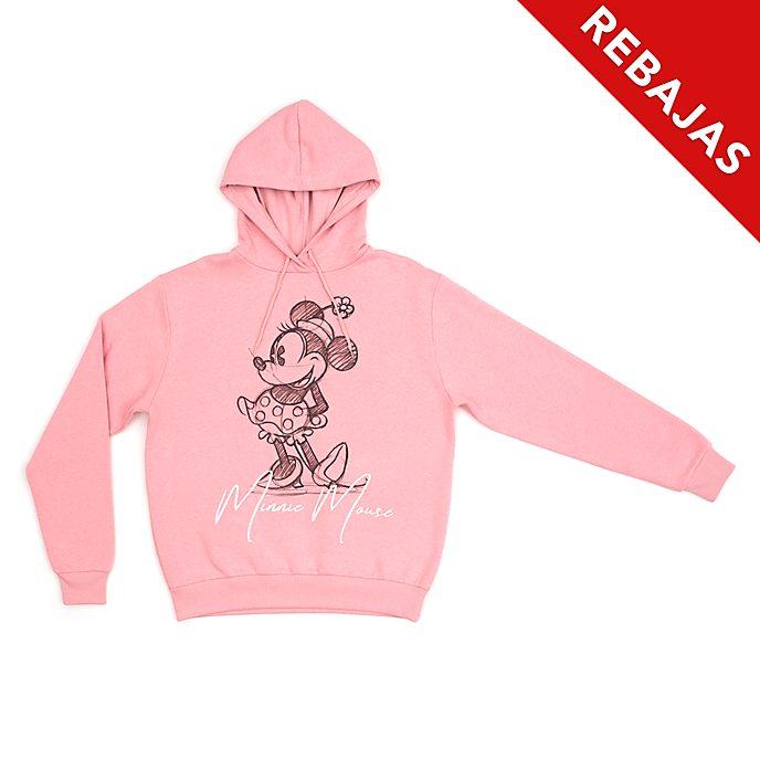 Sudadera con capucha Minnie para adultos, Disney Store