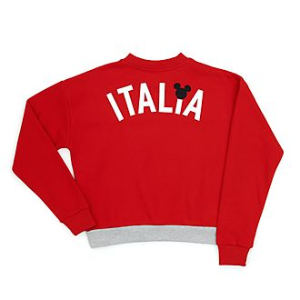 Disney Store Mickey Mouse Italia Ladies' Sweatshirt