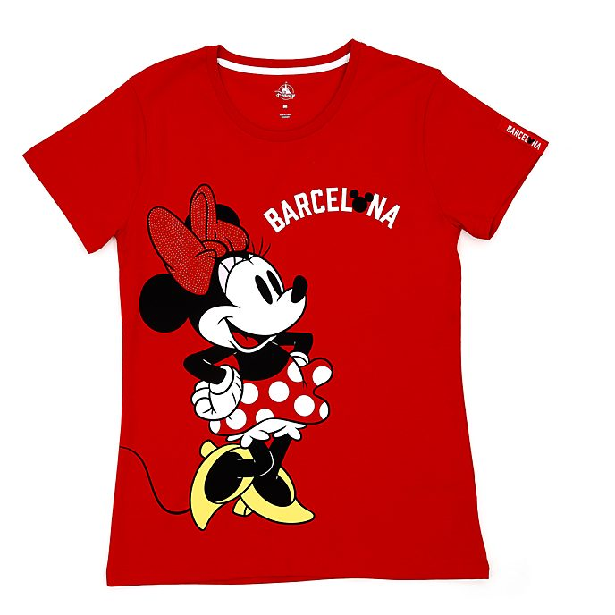 Disney Store - Minnie Maus - Barcelona T-Shirt für Damen