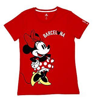 Disney Store T-shirt Minnie Barcelone pour femmes