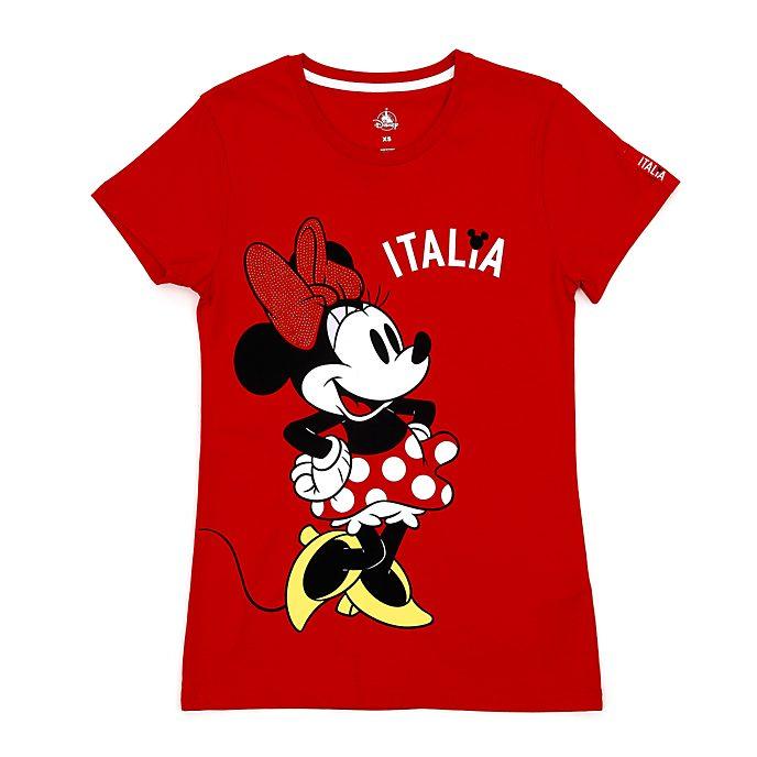 Camiseta Italia Minnie Mouse para mujer, Disney Store