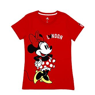 Disney Store - Minnie Maus - London T-Shirt für Damen