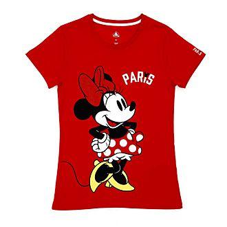 Disney Store T-shirt Minnie Paris pour femmes