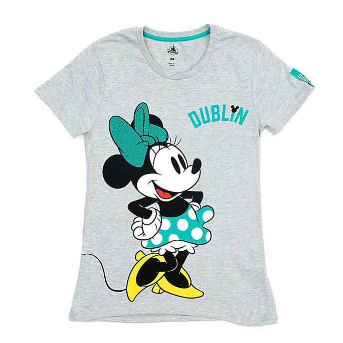 Disney Store T-shirt Minnie Mouse Dublin pour femmes