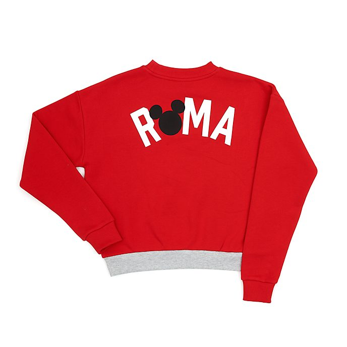 Disney Store Sweatshirt Mickey Rome pour femme