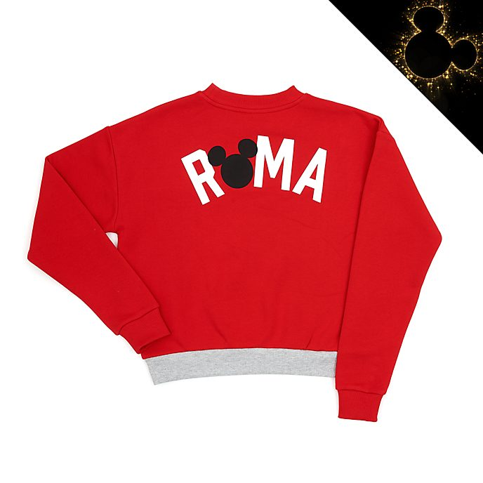 Disney Store Mickey Mouse Roma Ladies' Sweatshirt