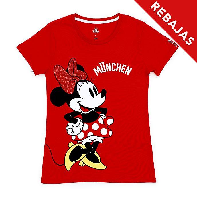 Camiseta München Minnie Mouse para mujer, Disney Store