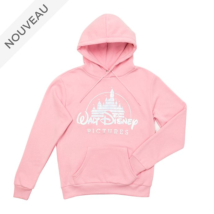 Disney Store Sweatshirt à capuche Walt Disney Pictures pour adultes