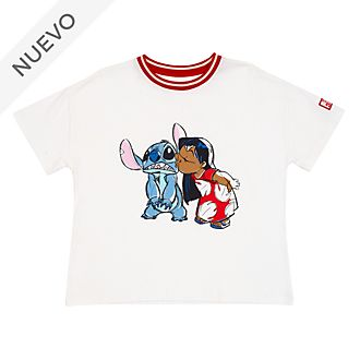 Camiseta para mujer Lilo y Stitch, Disney Store