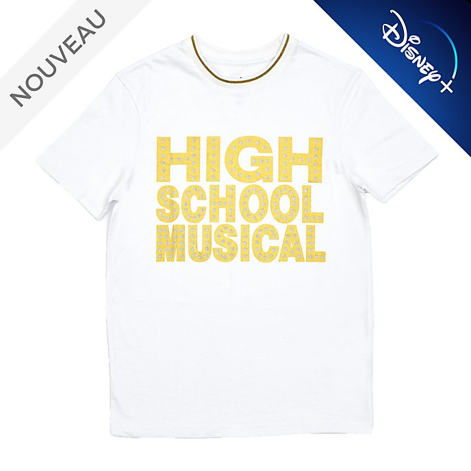 Disney Store T-shirt High School Musical pour adultes