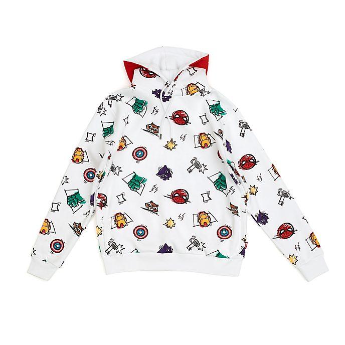 Sudadera con capucha dibujo Los Vengadores para adultos, Disney Store