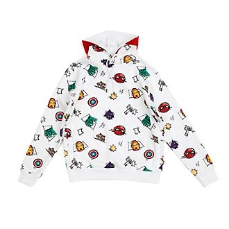 Disney Store Avengers Sketch Hooded Sweatshirt For Adults