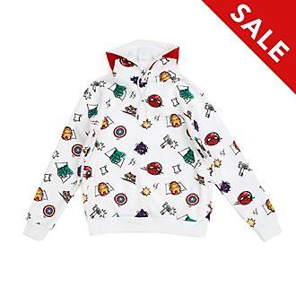 Disney Store - The Avengers Skizzenmotiv - Kapuzensweatshirt für Erwachsene