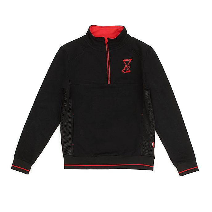Disney Store - Black Widow - Sweatshirt mit Reißverschluss am Hals für Erwachsene