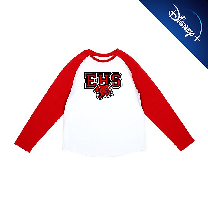 Disney Store T-shirt à manches raglan High School Musical pour adultes