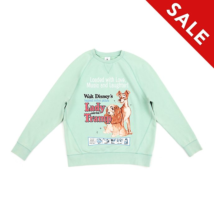 Disney Store Lady and the Tramp Classic Ladies' Sweatshirt