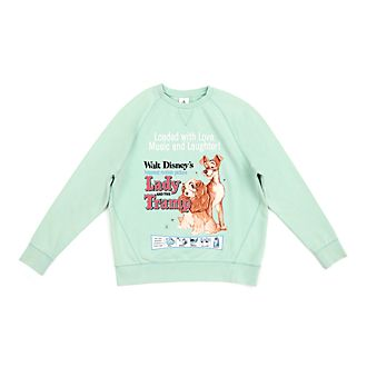 Disney Store Lady and the Tramp Classic Sweatshirt For Adults