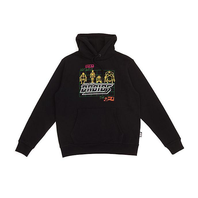 Disney Store - Star Wars - Droiden - Kapuzensweatshirt für Erwachsene