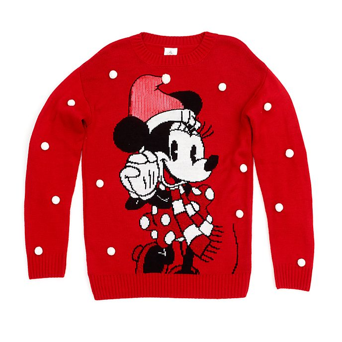 Jersey navideño Minnie Mouse para adultos, Holiday Cheer, Disney Store