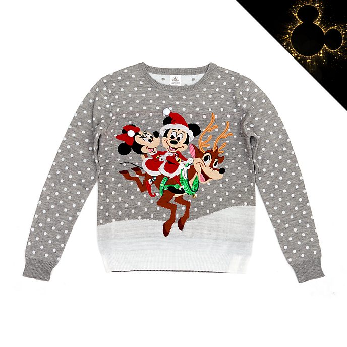 Maglione natalizio adulti Topolino e Minni Disney Store