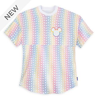 Disney Store Mickey Mouse Rainbow Disney Spirit Jersey For Adults